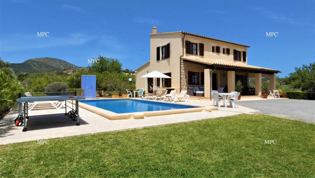 Hermosa casa de campo con piscina privada ideal para un for Casa de campo con piscina privada